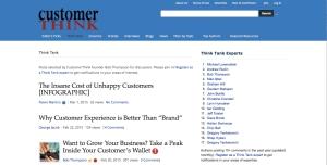CustomerThink Expert Posts