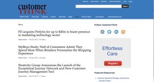 CustomerThink News Posts