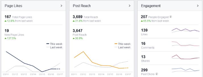 XVZ Facebook Results